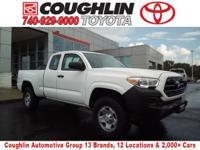 CONTACT COUGHLIN TOYOTA SALES AT  . CARFAX One-Owner.