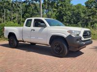 Super White 2017 Toyota Tacoma SR RWD 6-Speed Automatic