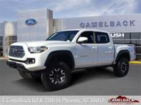 4D Double Cab, V6, 6-Speed, 4WD, Super White, ABS