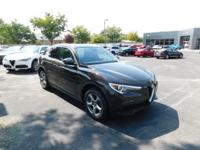 Clean CARFAX. Basalto Brown Metallic 2018 Alfa Romeo