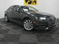Manhattan Gray Metallic 2018 Audi A4 2.0T FrontTrak 18