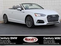 * One Owner * Clean Carfax * 2018 Audi A5 Cabriolet