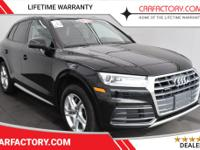 OVERVIEWThis 2018 Audi Q5 4dr PREMIUM 4 DOOR