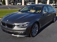 Silver 2018 BMW 7 Series 750i RWD 8-Speed Automatic