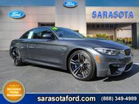 ***M4 CONVERTIBLE*** ONLY 7K MILES! ***AUTOCHECK 1