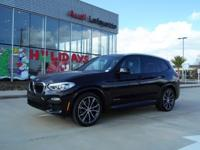 Audi Lafayette is excited to offer this 2018 BMW X3