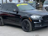 CARFAX One-Owner. Clean CARFAX. Black 2018 BMW X5