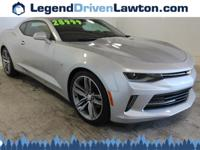 This Chevrolet Camaro has a strong Gas V6 3.6L/222