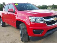 CARFAX One-Owner. Clean CARFAX. Red Hot 2018 Chevrolet