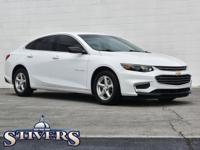 2018 Chevrolet Malibu LS 1LS Summit White CARFAX