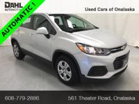 2018 Chevrolet Trax LS CARFAX One-Owner. Odometer is