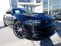 2018 DODGE CHARGER R/T 392, PITCH BLACK, *BLUETOOTH*,