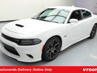 6.4L Hemi V8 Engine, Cloth Seats w/Scat Pack Logo,