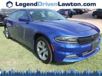 This Dodge Charger has a strong Regular Unleaded V-6