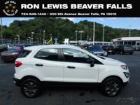 CARFAX One-Owner. Clean CARFAX. Diamond White 2018 Ford