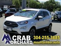 2018 Ford EcoSport Titanium 4WD 6-Speed Automatic 2.0L