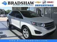 Oxford White 2018 Ford Edge SE KBB Fair Market Range