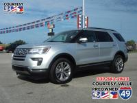 Come see this 2018 Ford Explorer Limited. Its Automatic