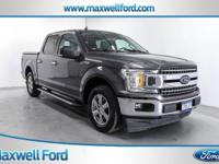 This outstanding example of a 2018 Ford F-150 XLT is