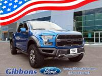 CARFAX One-Owner. Clean CARFAX. 2018 Ford F-150 Raptor