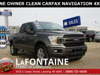 2018 Ford F-150 XLT, Magnetic Metallic, 4WD, Super Cab,