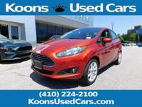2018 Ford Fiesta Hot Pepper Red Metallic Tinted