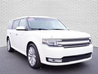 White 2018 Ford Flex Limited AWD 6-Speed Automatic with