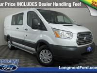 This rear wheel drive used 2018 Ford Transit Van