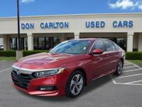 CARFAX One-Owner. Clean CARFAX. San Marino Red 2018