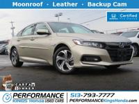 Honda Certified! 1-owner, Free CARFAX report! Features:
