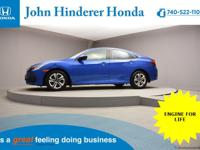 John Hinderer Honda is Thrilled to present a 2018 Honda