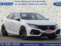 Low miles with only 2,634 miles! This 2018 Honda Civic