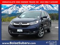 CARFAX One-Owner. Clean CARFAX. Dark Blue 2018 Honda