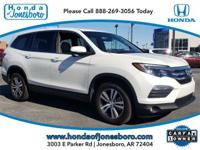 Clean CARFAX. White 2018 CARFAX One-Owner. Honda Pilot