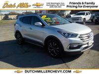 Sturdy and dependable, this 2018 Hyundai Santa Fe Sport