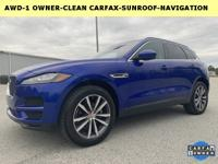 Priced below KBB Fair Purchase Price!F-PACE 2.0D
