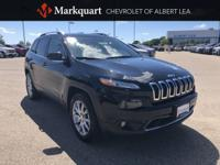 One-Owner Clean CARFAX. Diamond Black 2018 Jeep