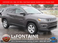 2018 Jeep Compass Altitude Granite Crystal Metallic