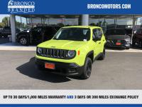 Green 2018 Jeep Renegade Sport 4WD 9-Speed 948TE