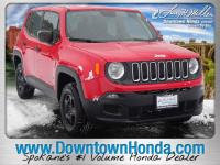 Colorado Red 2018 Jeep Renegade Sport 4WD 9-Speed 948TE