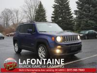 Jetset Blue 2018 Jeep Renegade Latitude FWD 9-Speed