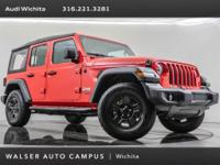 2018 Jeep Wrangler Unlimited Sport, located at Audi