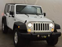 Bright White Clearcoat 2018 Jeep Wrangler JK Unlimited