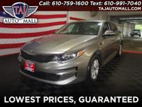 CARFAX One-Owner. Gray2018 Kia Optima LX FWD 2.4L I4