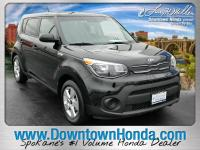 Shadow Black 2018 Kia Soul FWD 6-Speed Manual I4We are