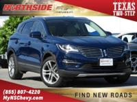 Blue 2018 Lincoln MKC Reserve AWD 6-Speed Automatic