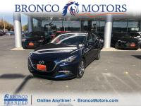 Deep Crystal Blue Mica 2018 Mazda Mazda3 Grand Touring