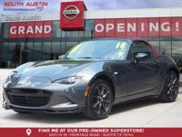 This 2018 Mazda MX-5 GS is offered to you for sale by