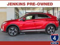 Low Miles! This 2018 Mitsubishi Eclipse Cross SEL will