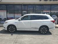 White 2018 Mitsubishi Outlander PHEV GT 4WD 1-Speed
